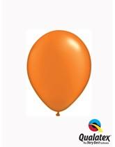 "Qualatex Pearl 5"" Mandarin Orange Latex Balloons 100pk"