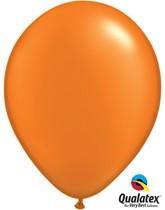 "11"" Pearl Mandarin Orange Latex Balloons 100pk"
