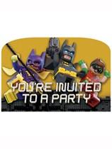 Lego Batman Movie Party Invitations 8pk