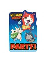 Yo-Kai Watch Invitations 8pk