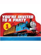 Thomas & Friends Party Invitations 8pk