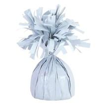 White 6oz Foil Balloon Weight