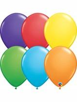 "Rainbow Assorted 11"" Latex Balloons 100pk"