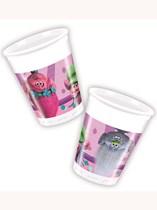 Trolls Plastic Cups 8pk
