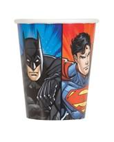 Justice League 9oz Paper Cups 8pk