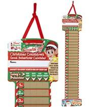 Christmas Elf Scratch Off Countdown Calendar