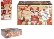 Elves Behavin' Badly Christmas Eve Elf Box - Medium