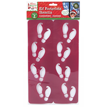 Elf Footprint Stencil 2 Pack