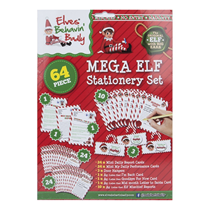 Elf Mega Stationery Set 64pce