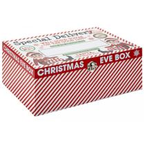 Deluxe Wooden Christmas Eve Elf Box 30x20x12cm