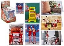 Elf Photo Christmas Cards 6pk