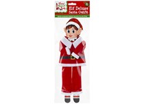 Christmas Elf Plush Santa Outfit