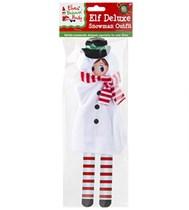 Christmas Elf Plush Snowman Outfit