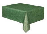 "Grass Coloured Rectangular Plastic Tablecover 54""x 108"""