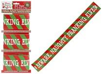 3 Rolls Christmas Elf Printed Tape 2.7M