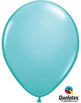 """Qualatex Fashion 11"""" Carribbean Blue Latex Balloons 100pk"""