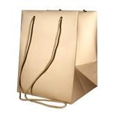 Metallic Gold Hand Tie Gift Bag