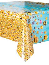 Emoji Party Plastic Tablecover