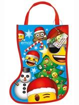 Christmas Emoji Tote Bag