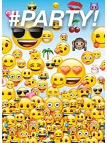 Emoji Party Invitations & Envelopes 8pk