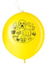 Emoji Party Punch Ball Balloons 2pk