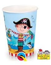 Rachel Ellen Pirate Paper Cups 8pk