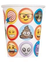 Emoji Party 9oz Paper Cups 8pk