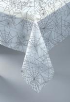 Halloween Spiderweb Plastic Tablecover
