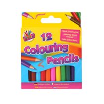 Half Sized Coloured Pencils 12pk