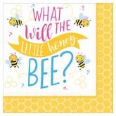 Gender Reveal Bee Napkins 16pk