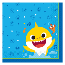 Baby Shark Party Lunch Napkins 16pk