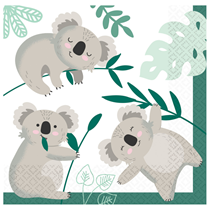 Koala 33cm Luncheon Napkins 16pk