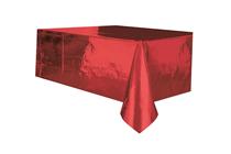 Red Foil Rectangular Tablecover