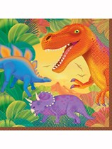 Prehistoric Dinosaur Luncheon Napkins 16pk