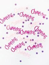 Pink Christening Confetti 14g