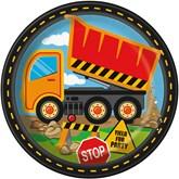 "Construction Trucks 9"" Paper Plates 8pk"