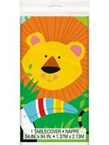 Jungle Animal Plastic Tablecover