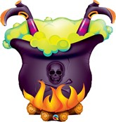 "Halloween Oopsie Witch's Brew 40"" Foil Balloon"