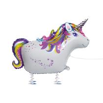 "Walking Unicorn Pet 35"" Foil Balloon With Legs"