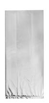 Silver Foil Cello Sweet Party Bags 10pk
