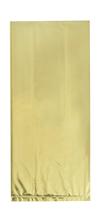 Gold Foil Cello Sweet Party Bags 10pk