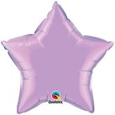 """Pearl Lavender 20"""" Star Foil Balloon"""