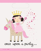 Unicorn Magic Plastic Party Bags 8pk