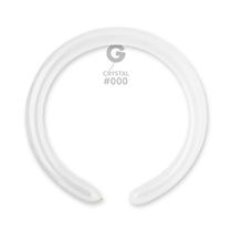 Gemar Crystal Clear 260 Latex Modelling Balloons 100pk