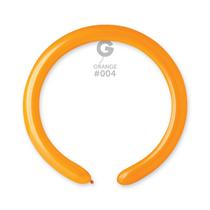 Gemar Standard Orange 260 Latex Modelling Balloons 50pk