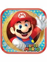 Super Mario Paper Plates 8pk
