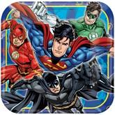 Justice League Paper Plates 8pk