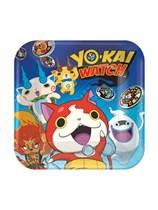 Yo-Kai Watch Paper Plates 23cm 8pk