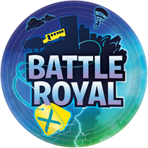 Battle Royal 23cm Paper Plates 8pk