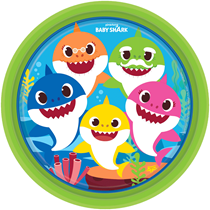 Baby Shark Party 23cm Paper Plates 8pk